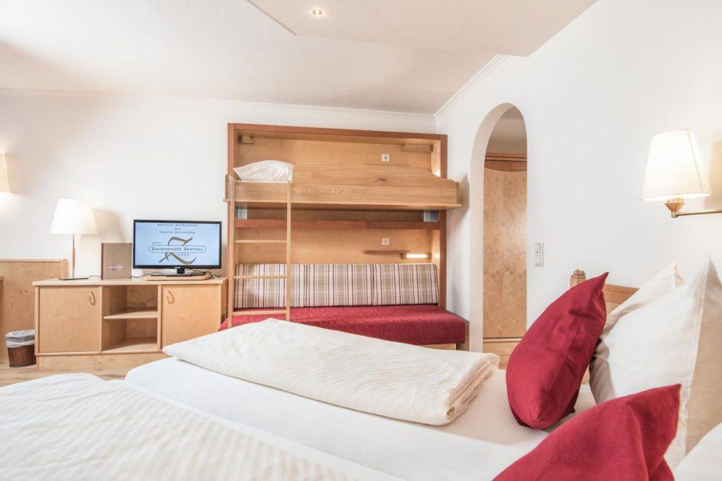 Doppelzimmer im Hotel Zentral, Zauchensee
