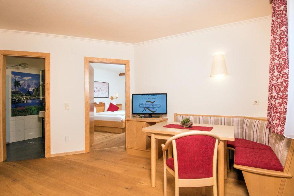 Familienzimmer im Hotel Zentral, Zauchensee