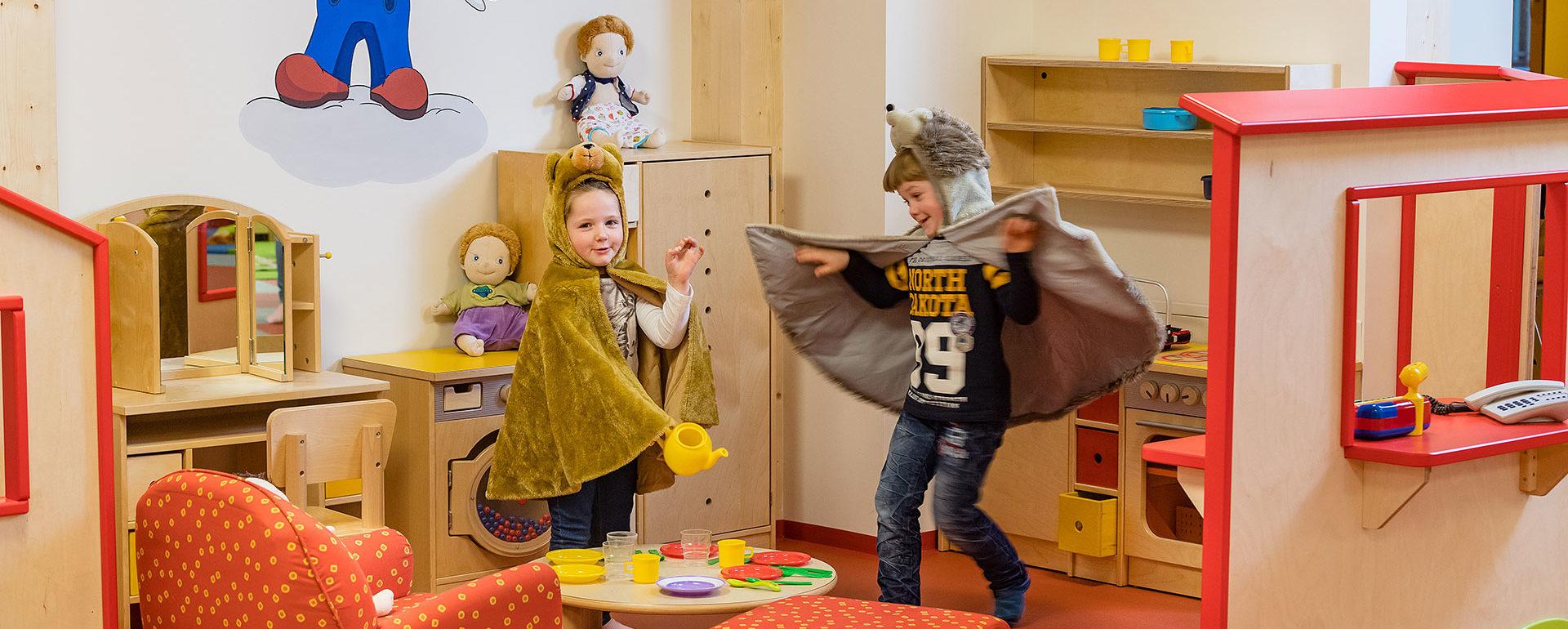 Kinder-Erlebniswelt im Hotel Zauchensee Zentral