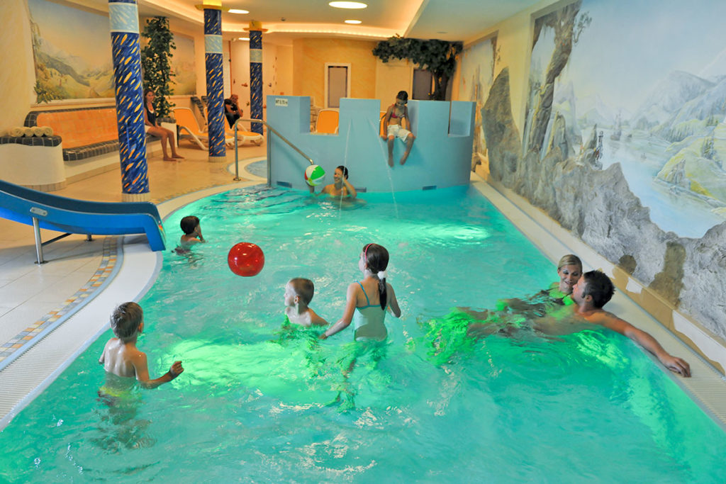 Kinderwellness - Familienurlaub in Zauchensee
