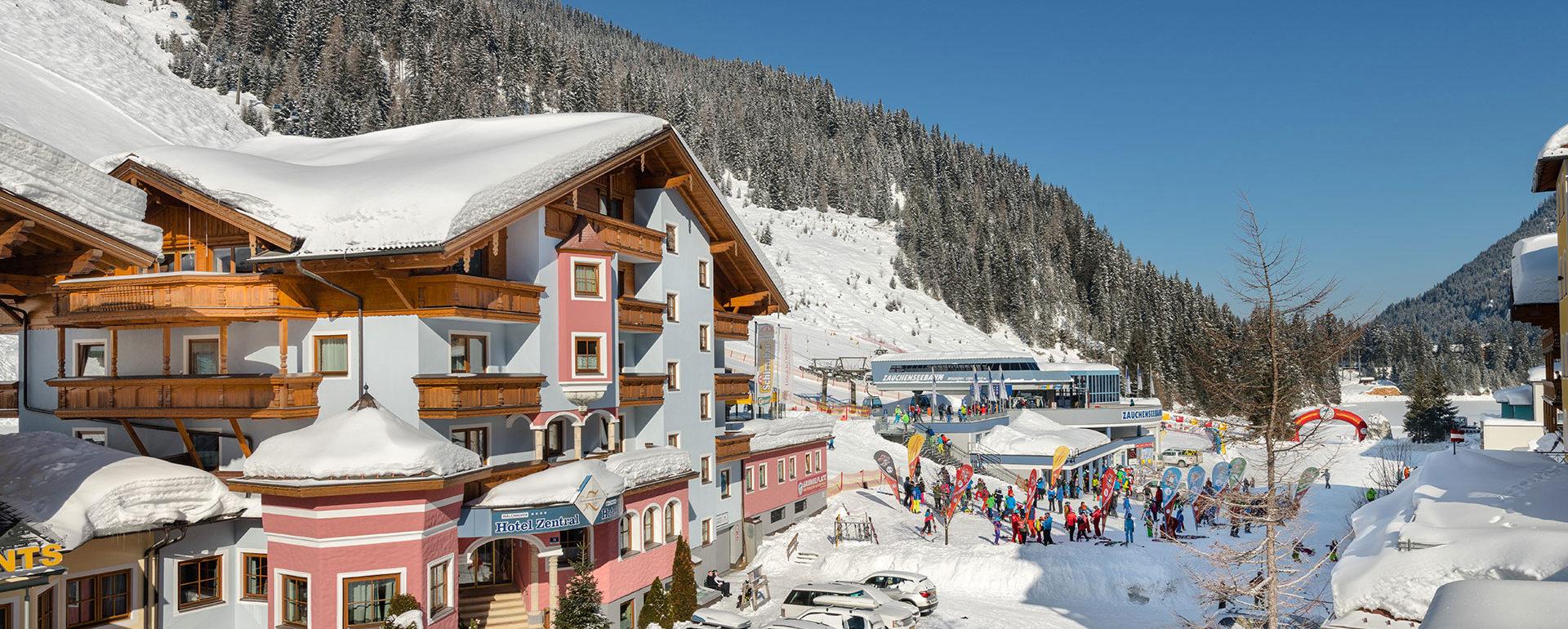 Kontakt zum Hotel Zauchensee Zentral