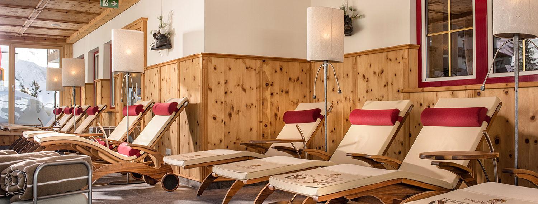 Ruheraum im Hotel in Zauchensee