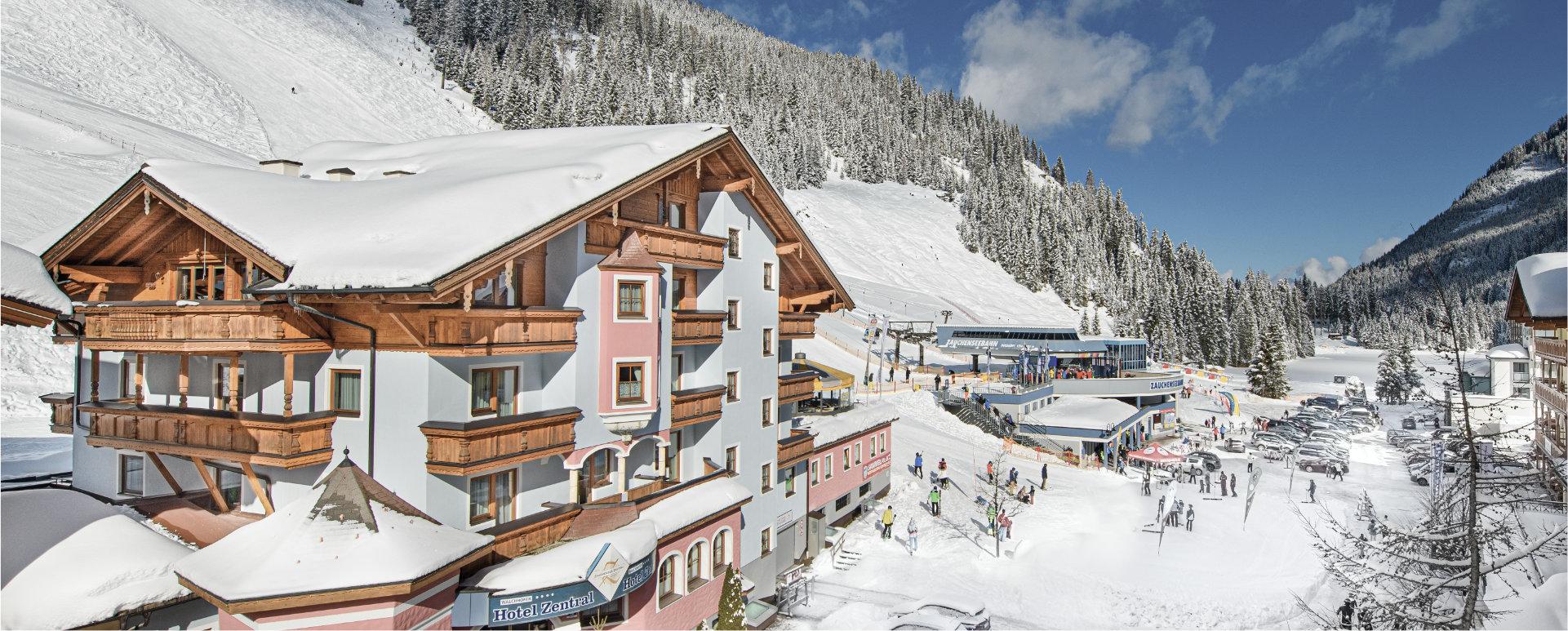 Top Lage Hotel Zentral Zauchensee