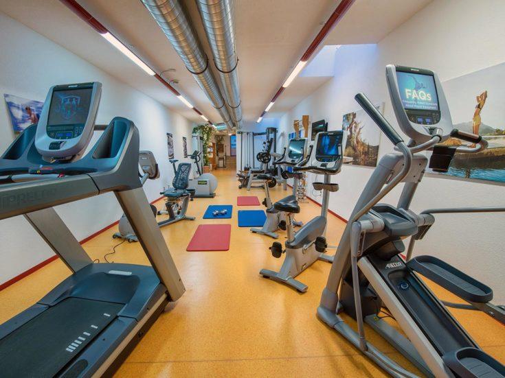 Fitnessraum im Hotel Zauchensee Zentral