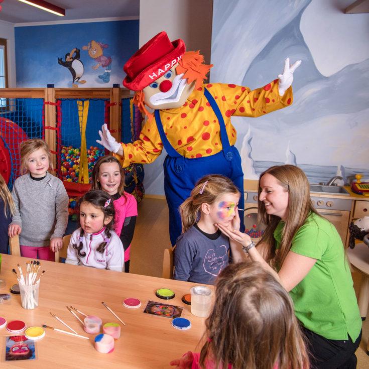 Kinderbetreuung im Hotel Zauchensee Zentral