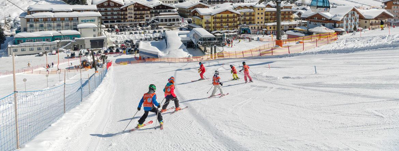 Kinderskikurse in der Skischule in Zauchensee
