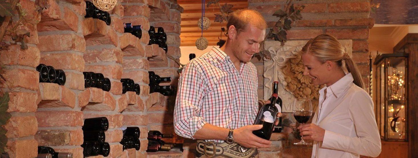 Weinkeller im Hotel Zauchensee Zentral